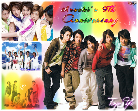 Arashi9th by TenjoStyle